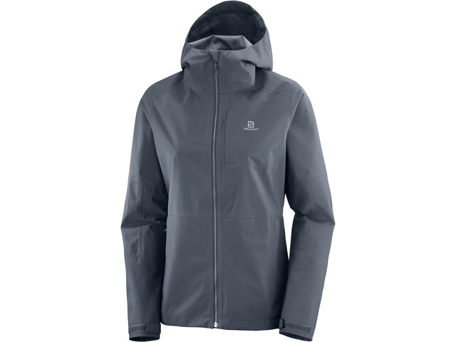 Salomon Outrack Waterproof Jacket Women, ebony